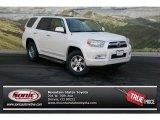 2013 Blizzard White Pearl Toyota 4Runner SR5 4x4 #78374221