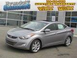 2013 Titanium Gray Metallic Hyundai Elantra Limited #78374213