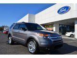 2013 Sterling Gray Metallic Ford Explorer XLT #78374588