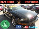 2006 Black Ford Mustang V6 Premium Coupe #78374976