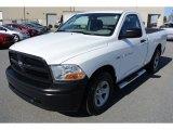 2012 Bright White Dodge Ram 1500 Express Regular Cab #78374975