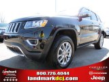 2014 Brilliant Black Crystal Pearl Jeep Grand Cherokee Limited #78374563