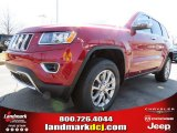 2014 Deep Cherry Red Crystal Pearl Jeep Grand Cherokee Limited #78374562