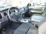 2010 Toyota Tundra TRD Rock Warrior Double Cab 4x4 Black Interior