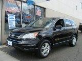 2010 Crystal Black Pearl Honda CR-V EX AWD #78375097