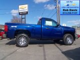 2013 Blue Topaz Metallic Chevrolet Silverado 1500 Work Truck Regular Cab 4x4 #78374362