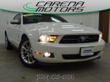 2011 Performance White Ford Mustang V6 Premium Coupe #78375452
