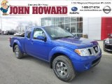 2013 Metallic Blue Nissan Frontier Pro-4X King Cab 4x4 #78374926
