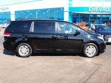2011 Black Toyota Sienna XLE #78374336