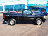 2011 Black Chevrolet Silverado 1500 Regular Cab 4x4 #78374335