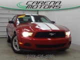 2011 Red Candy Metallic Ford Mustang V6 Coupe #78375450