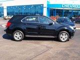 2010 Black Chevrolet Equinox LS #78374333