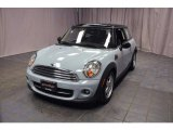2011 Ice Blue Mini Cooper Hardtop #78374327