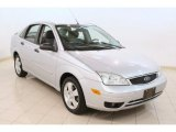 2005 CD Silver Metallic Ford Focus ZX4 S Sedan #78374898