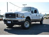 2004 Silver Metallic Ford F250 Super Duty FX4 Crew Cab 4x4 #78374869
