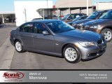 2010 Space Gray Metallic BMW 3 Series 328i Sedan #78374689