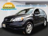 2010 Crystal Black Pearl Honda CR-V EX AWD #78462060