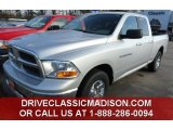 2012 Bright Silver Metallic Dodge Ram 1500 SLT Quad Cab 4x4 #78461769