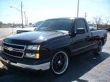2007 Black Chevrolet Silverado 1500 Classic LS Regular Cab #78461746
