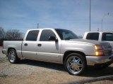 2006 Sandstone Metallic Chevrolet Silverado 1500 LS Crew Cab #78461745
