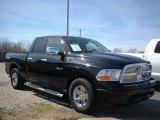 2009 Brilliant Black Crystal Pearl Dodge Ram 1500 ST Quad Cab #78461742