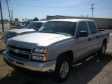 2006 Silver Birch Metallic Chevrolet Silverado 1500 LT Crew Cab 4x4 #78461741
