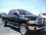 2004 Black Dodge Ram 1500 SLT Quad Cab 4x4 #78461738