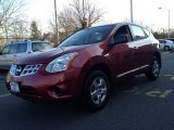 2012 Cayenne Red Nissan Rogue S AWD #78461883