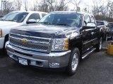 2013 Black Chevrolet Silverado 1500 LT Extended Cab 4x4 #78461178