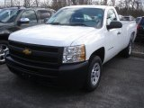 2013 Summit White Chevrolet Silverado 1500 Work Truck Regular Cab #78461177