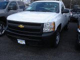2013 Summit White Chevrolet Silverado 1500 Work Truck Regular Cab #78461167