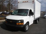 2013 Chevrolet Express Cutaway 3500 Moving Van Front 3/4 View