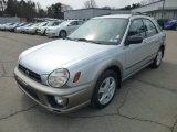 2002 Subaru Impreza Outback Sport Wagon Front 3/4 View