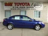 2007 Laser Blue Metallic Chevrolet Cobalt LS Sedan #78461293