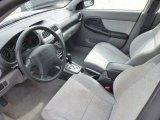 2002 Subaru Impreza Outback Sport Wagon Gray Interior