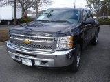 2013 Black Chevrolet Silverado 1500 LS Crew Cab 4x4 #78461134