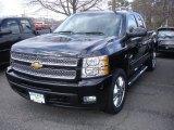 2013 Black Chevrolet Silverado 1500 LTZ Extended Cab 4x4 #78461133