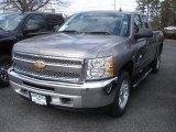 2013 Graystone Metallic Chevrolet Silverado 1500 LT Extended Cab 4x4 #78461116