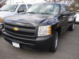 2013 Black Chevrolet Silverado 1500 Work Truck Extended Cab #78461114
