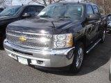 2013 Black Chevrolet Silverado 1500 LT Crew Cab 4x4 #78461100