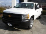 2013 Summit White Chevrolet Silverado 1500 Work Truck Extended Cab #78461099