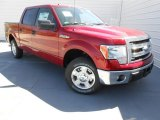 2013 Ruby Red Metallic Ford F150 XLT SuperCrew #78461576