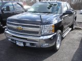 2013 Black Chevrolet Silverado 1500 LT Extended Cab 4x4 #78461095