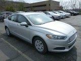 2013 Ingot Silver Metallic Ford Fusion S #78461427