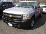 2013 Silver Ice Metallic Chevrolet Silverado 1500 Work Truck Regular Cab #78461087