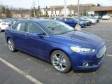 2013 Deep Impact Blue Metallic Ford Fusion Titanium AWD #78461425