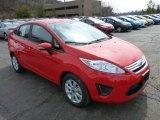 2013 Race Red Ford Fiesta SE Sedan #78461424