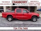 2004 Flame Red Dodge Dakota SXT Quad Cab 4x4 #78461421