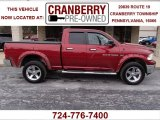 2011 Deep Cherry Red Crystal Pearl Dodge Ram 1500 Big Horn Quad Cab 4x4 #78461417