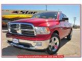 2010 Inferno Red Crystal Pearl Dodge Ram 1500 SLT Crew Cab #78461704